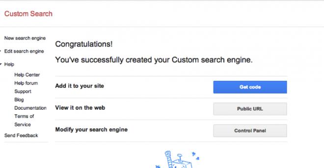 Google Custom Search 2