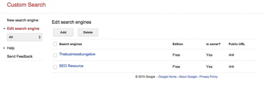 Google Custom Search 3