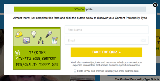 make your own quiz
