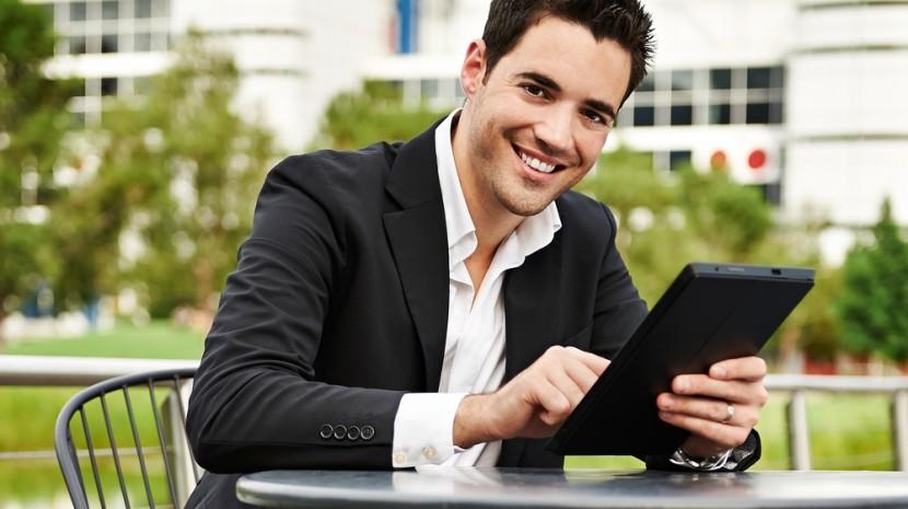 millennial businessman