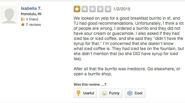 yelp reviews study