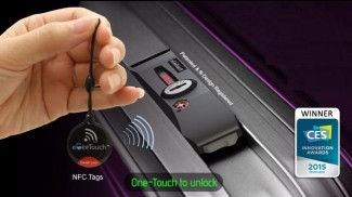 eGeeTouch Smart Luggage Lock Unveiled at CES 2015
