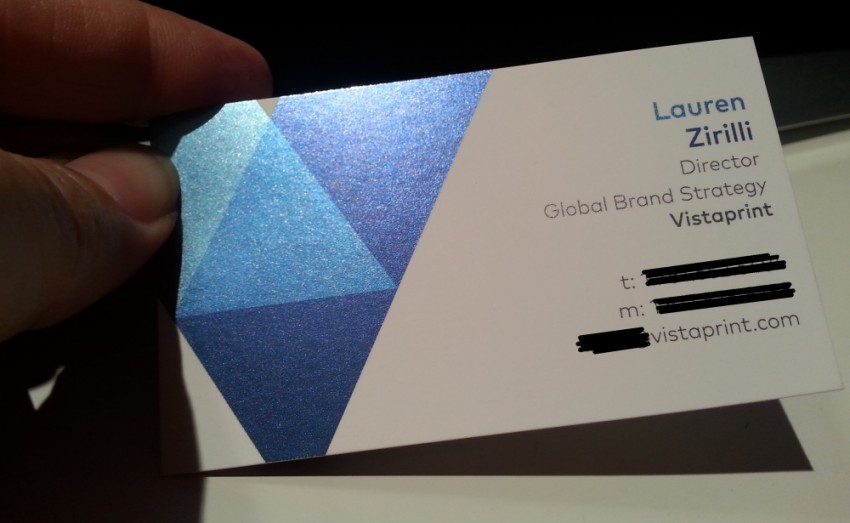 Custom business cards amp business card printing vistaprint oukasfo shopping in milwaukee groupon reheart Choice Image