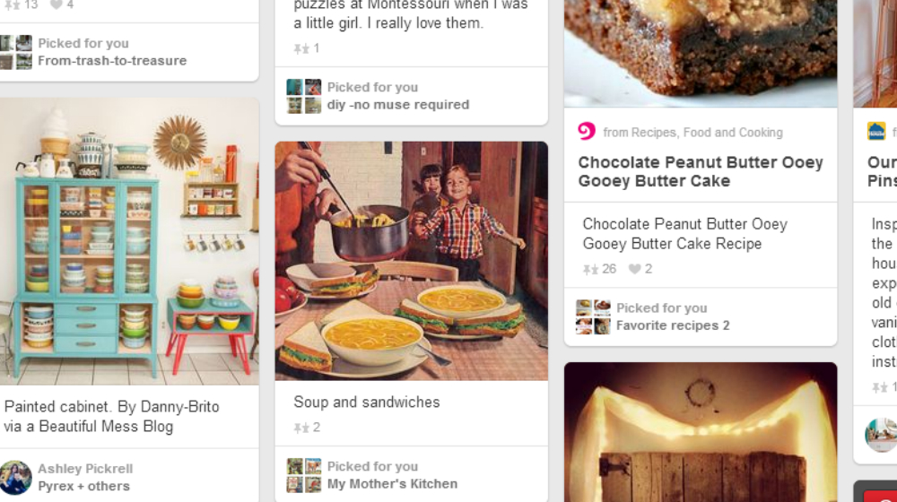Pinterest Picked For You Pins Met With Criticism - Small