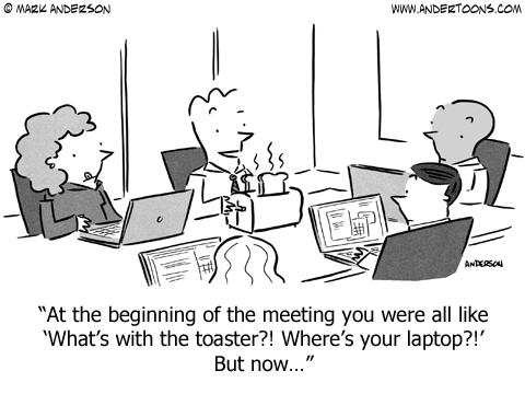 business meeting cartoon
