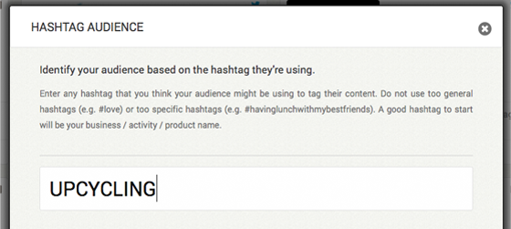 Moment.me Leads Creating a Hashtag Audience