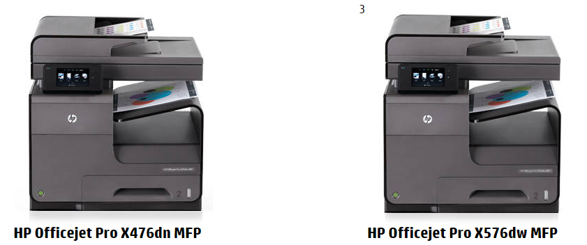 Officejet Pro X Series