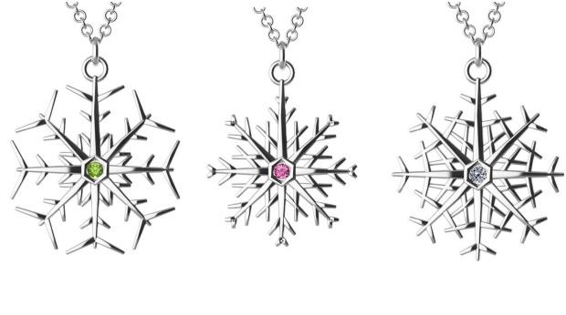 snowflake-necklaces