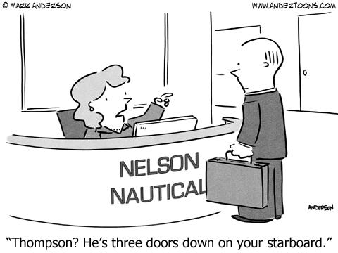 starboard business cartoon