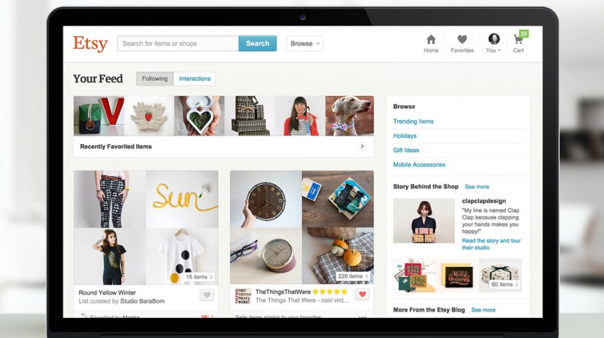 Etsy and BlackBerry Make News, Big Player Enters Search Ads