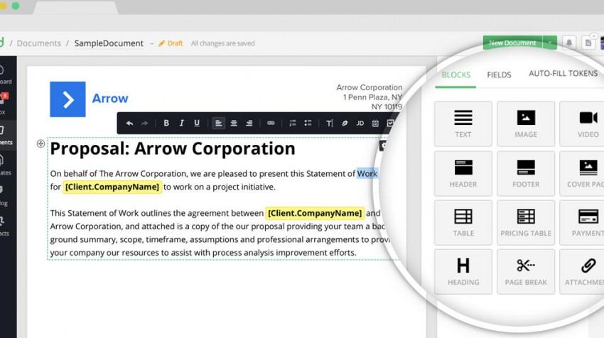 pandadoc document templates