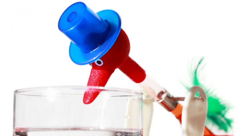 033015 drinking bird toy