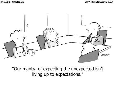 how to get rid of unexpected company
