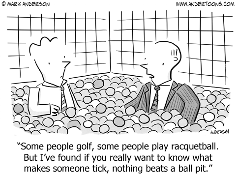 Is a Ball Pit the Best Place for a Job Interview?