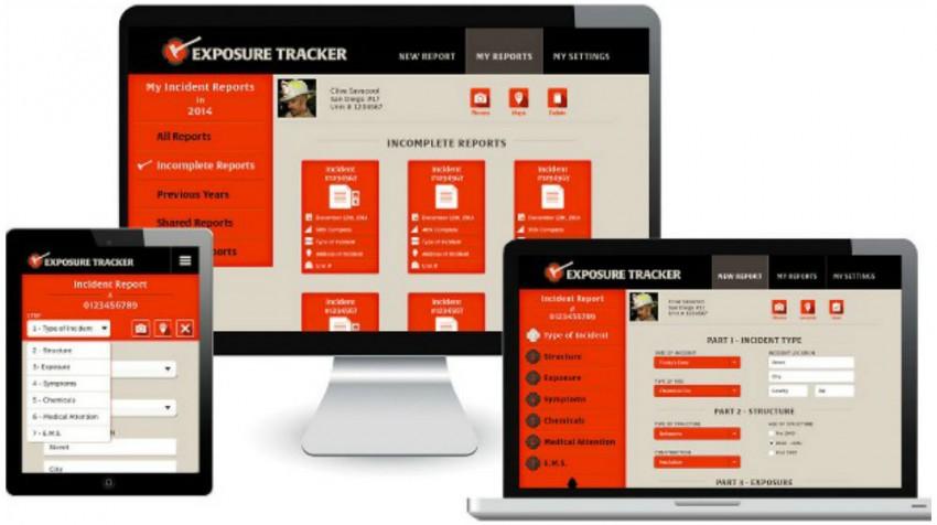 Exposure Tracker App