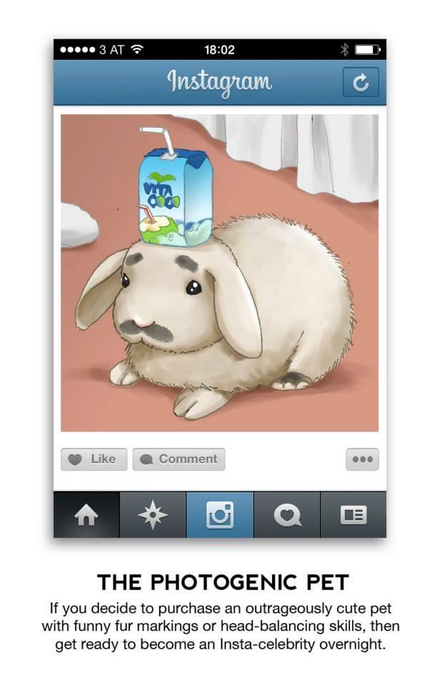 different types of instagram photos