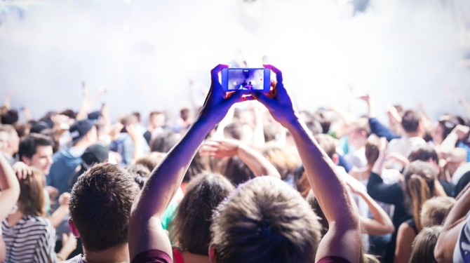 capturing live event
