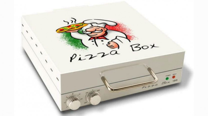 Who Needs the Pizza Guy? This Pizza Box Has Its Own Oven Inside
