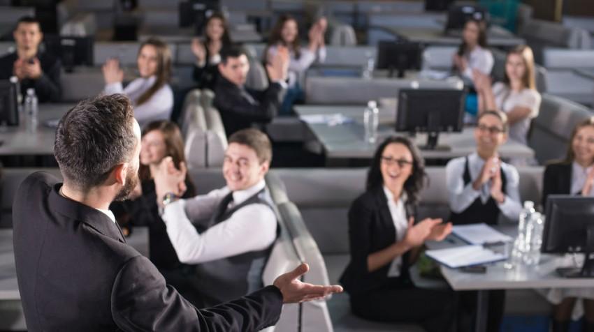 become a master presenter