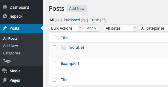 Moving From Tumblr to WordPress