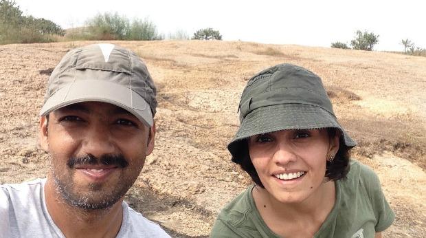 Vishal & Sophia - DrumUp founders