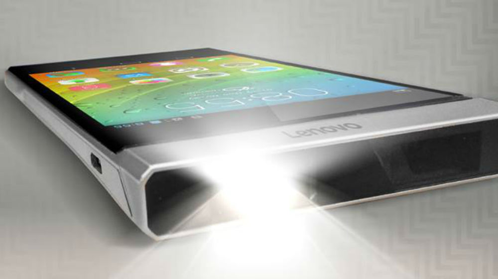 With lenovo smart cast your phone becomes a projector for Small projector for phone