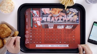 No More Greasy Touchscreen? KFC Has Bluetooth Keyboard Tray Liners