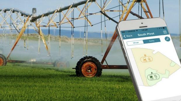 cropx farming water use drought sensor