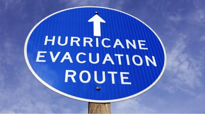 evac route
