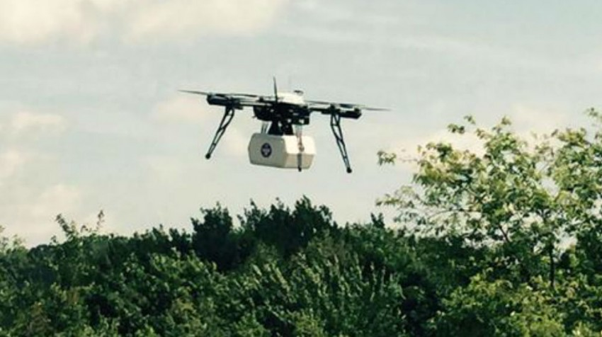 Drone Delivery, First Data Acquisition Make Headlines