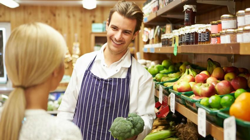helping customers