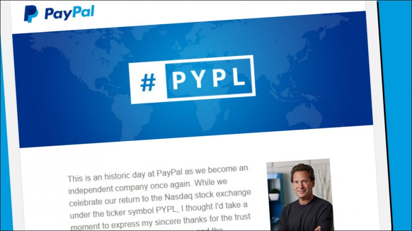 paypal spinoff from ebay
