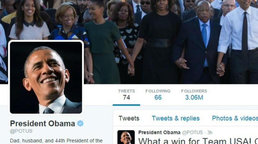 Obama Twitter Account
