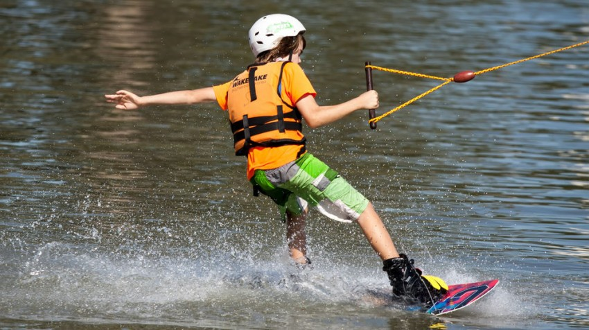 waterski instruction