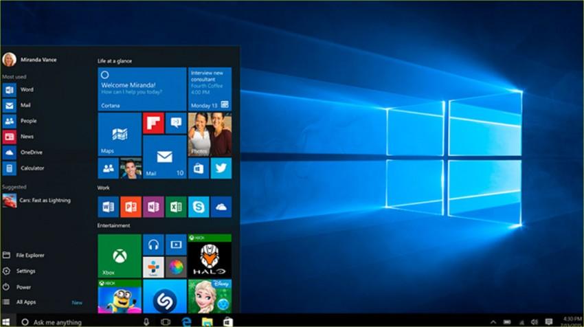 microsoft releases windows 10