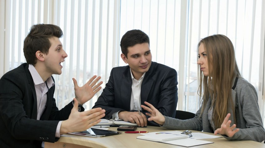 handle disagreements at work