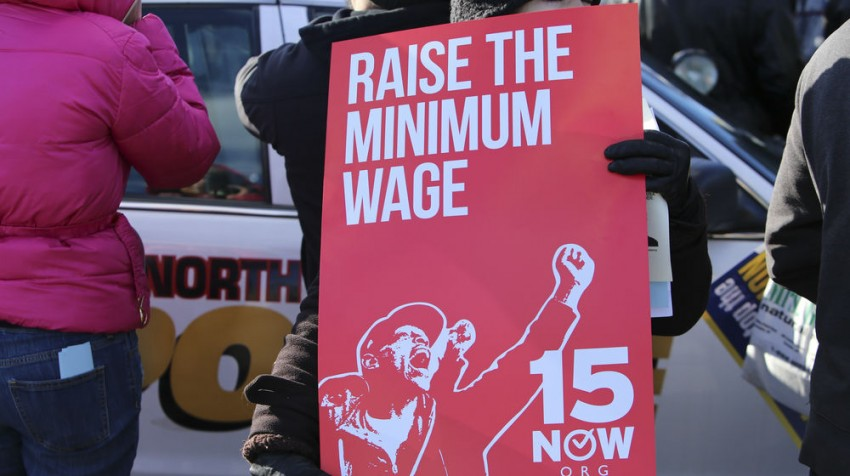 support the minimum wage increase