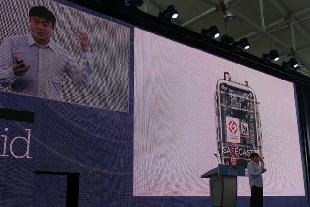 Joi Ito Safecast Geiger Counter Open Source