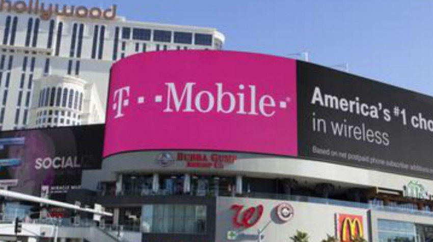 Tmobile billboard