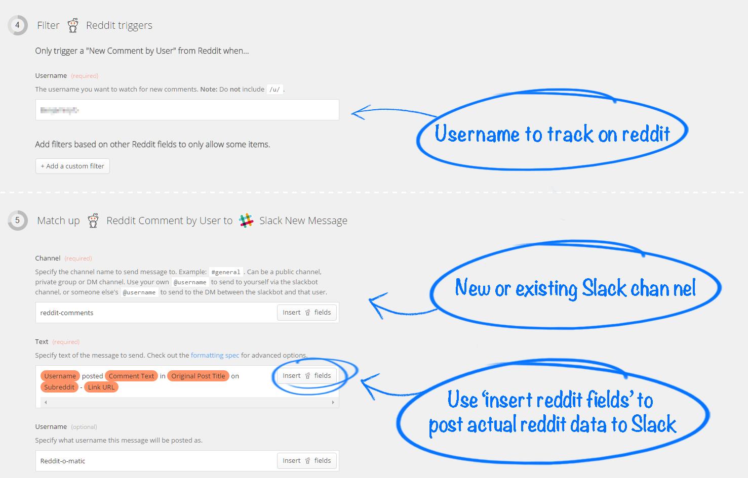 Configure Zapier Content Marketing Automation