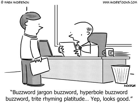 Business writing service jargon