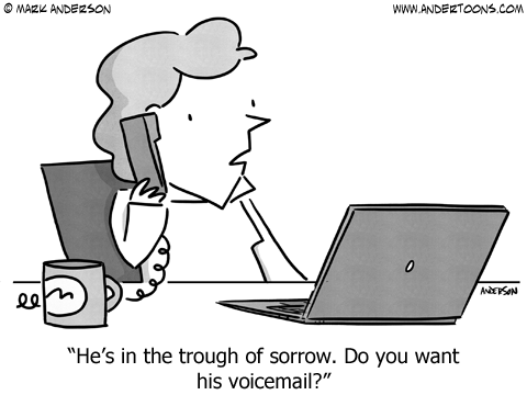 "There's Plenty of Company in ""The Trough of Sorrow"""