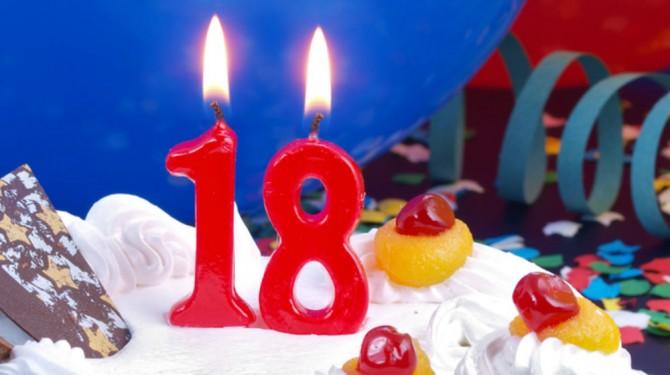 eighteen