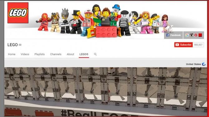 lego youtube