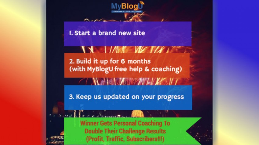 MyBlogU Contest Invites You To Start a New Site