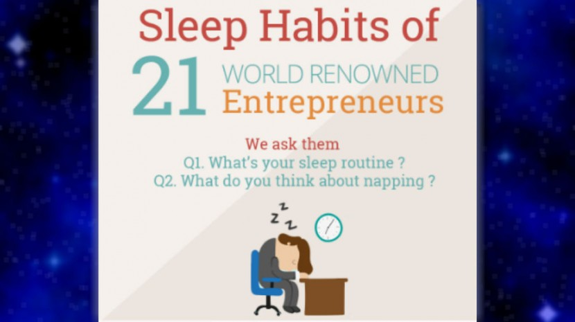 You Won't Find Most Entrepreneurs Napping On the Job