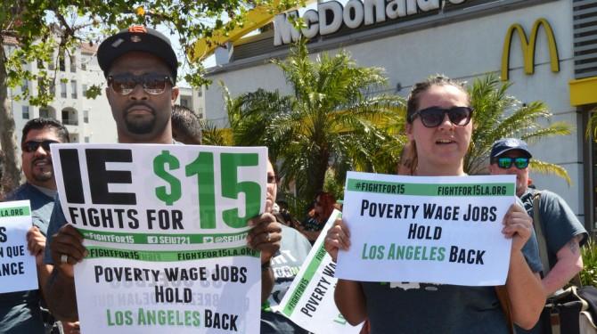 wage strike