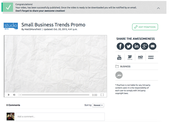 how to use video for small business