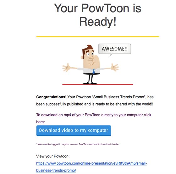 What Is PowToon For Business