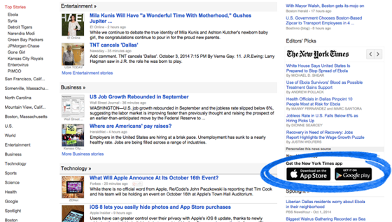 how to use google news for business